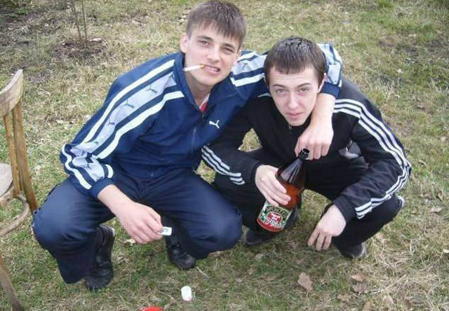 Russian Squatting Culture Is Really Something